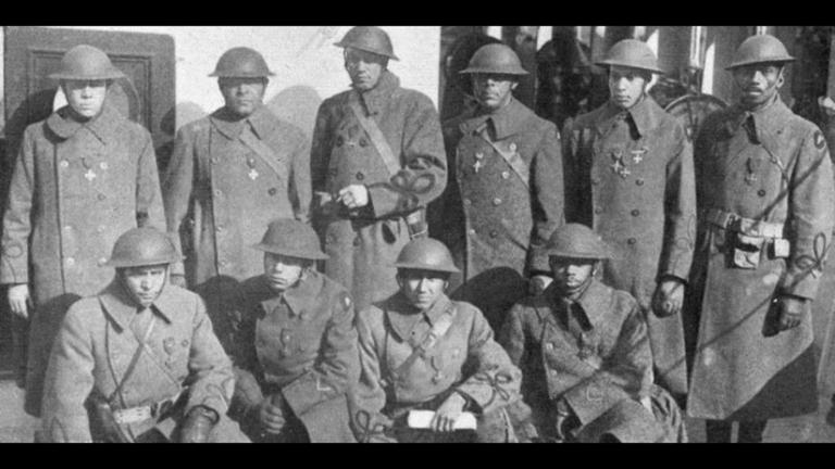 The 370th Regiment of the United States National Guard fought on two fronts: the war against the Germans and the war against racism and inequality.