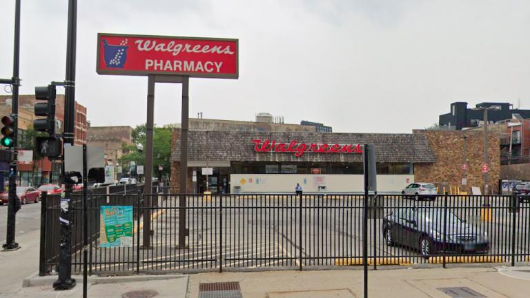 Walgreens, 1372 N. Milwaukee Ave. (Google Street View)