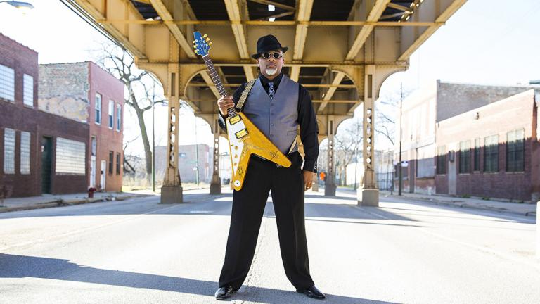 Chicago blues artist Toronzo Cannon plays in his hometown this weekend. (Courtesy of Chris Monaghan)