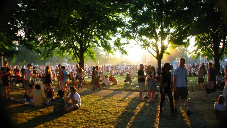Pitchfork Music Festival, 2011 (Incase / Flickr)