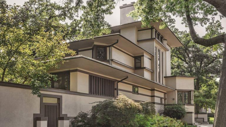 The William G. Fricke House, designed by Frank Lloyd Wright, is one of the stops on the 2019 Wright Plus Housewalk. (Frank Lloyd Wright Trust / Facebook)