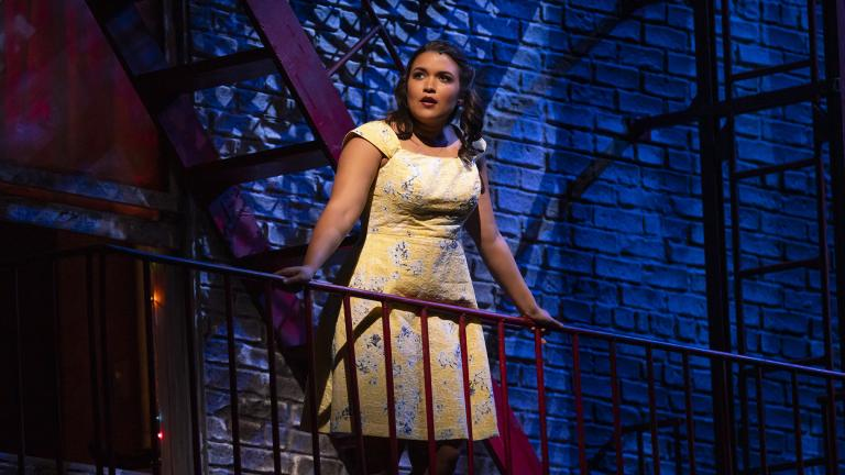 "Mikaela Bennett ""West Side Story"" at Lyric Opera of Chicago. (Photo credit: Todd Rosenberg)"