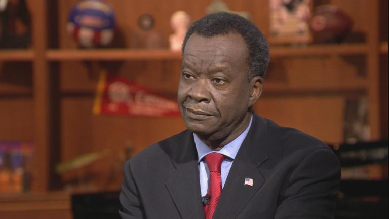 "Willie Wilson appears on ""Chicago Tonight"" on March 28, 2018."