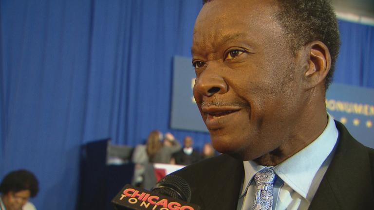 Willie Wilson speaks to Chicago Tonight in 2015. (Chicago Tonight file photo)