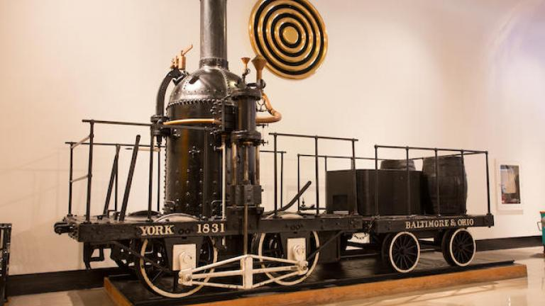 """A 1926 replica of an 1831 B&O """"York"""" train - just one of five sold by the Musuem of Science and Industry last month. (Courtesy of the Museum of Science and Industry)"""