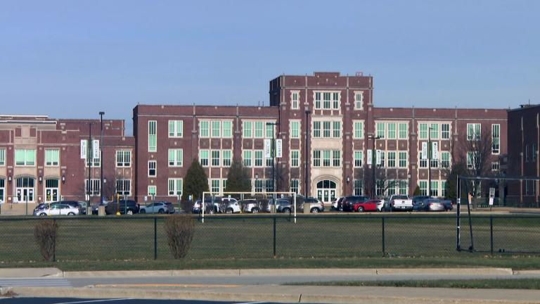 York Community High School in Elmhurst. (WTTW News)
