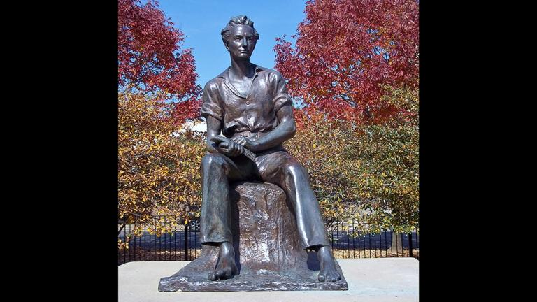 """""""Young Lincoln"""" by Charles Keck"""