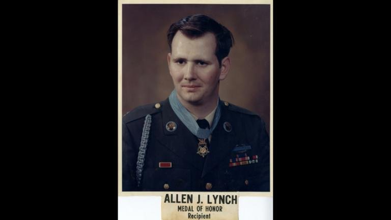 Chicago native Allen Lynch is one of 74 living veterans to have received the Medal of Honor. (Courtesy Pritzker Military Museum & Library)