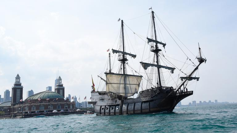 Tall Ships Chicago at Navy Pier returns this weekend. (Jeff Brown / Navy Pier, Inc.)