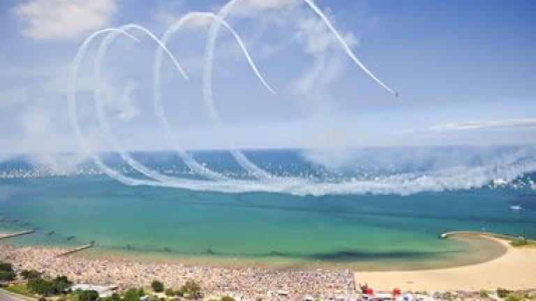 Chicago Air & Water Show. Image Credit: explorechicago.org
