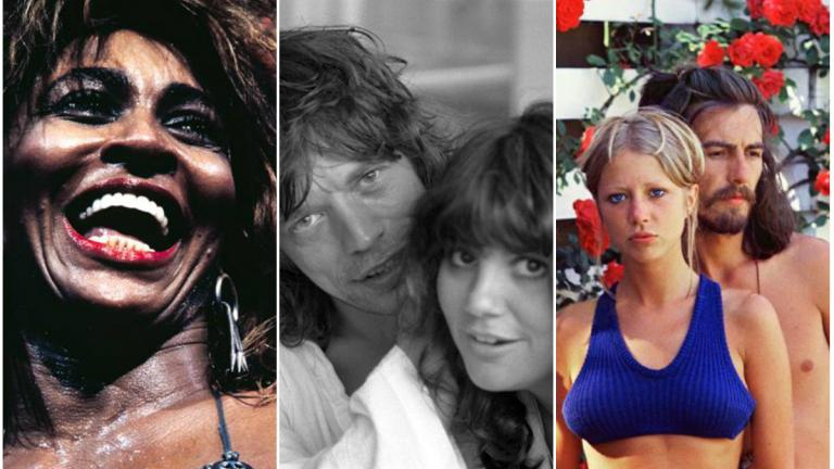 Tina Turner (Henry Diltz) Mick Jagger and Linda Ronstadt (Carinthia West) Pattie Boyd and George Harrison (Pattie Boyd)