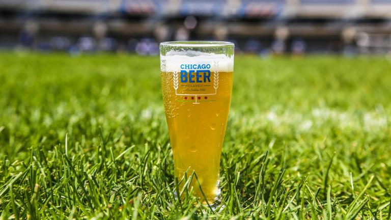 Sample beer and play giant Jenga at Soldier Field on Saturday. (Courtesy of Red Frog Events)