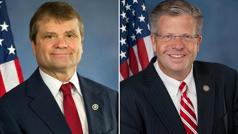 Reps. Mike Quigley and Randy Hultgren
