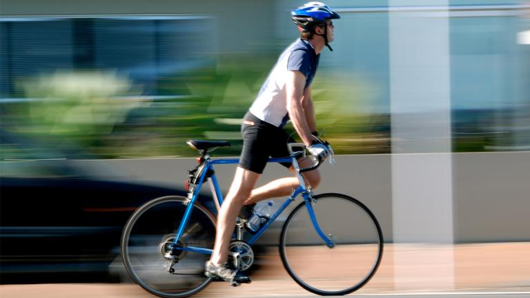 A new law in Illinois clarifies that bicycles are vehicles. (Azri / Flickr)