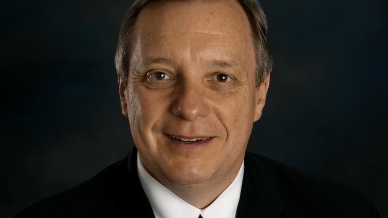 Official portrait of U.S. Sen. Dick Durbin