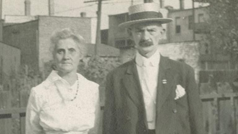 Lou and Elmer Whiting, c. 1915 (Courtesy of Chicago History Museum)
