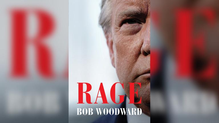 President Donald Trump admits to concealing the true threat of coronavirus in a new book written by Bob Woodward. (Credit: Simon & Schuster)