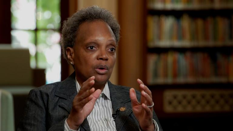 Chicago Mayor Lori Lightfoot is past her halfway point as mayor, leading the nation's third largest city. (Credit: CNN)