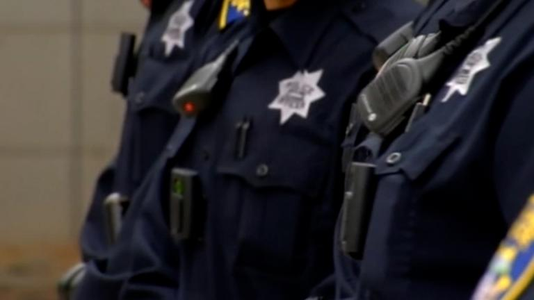 The coronavirus has become the leading cause of death for officers despite law enforcement being among the first groups eligible to receive the vaccine at the end of 2020. (Credit: KGO)