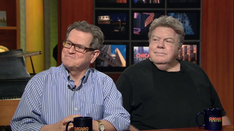 Tim Kazurinsky and George Wendt