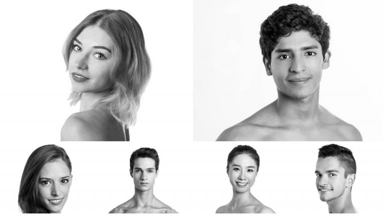 Joffrey Ballet's 10 new dancers (Photos courtesy Joffrey Ballet)