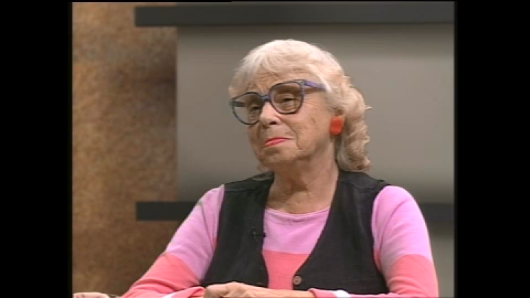Lois Weisberg on Chicago Stories in 2000.