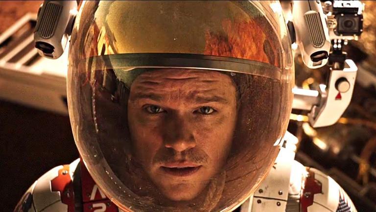 Ridley Scott's film 'The Martian'