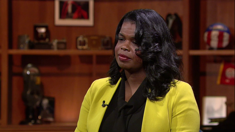 "Cook County State's Attorney Kim Foxx appears on ""Chicago Tonight"" on Jan. 11, 2017."