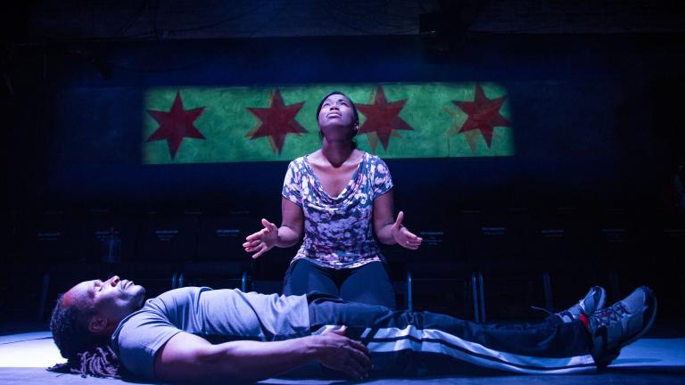 Collaboraction's 'Crime Scene: Breathe Life.' (Photo by Joel Maisonet)