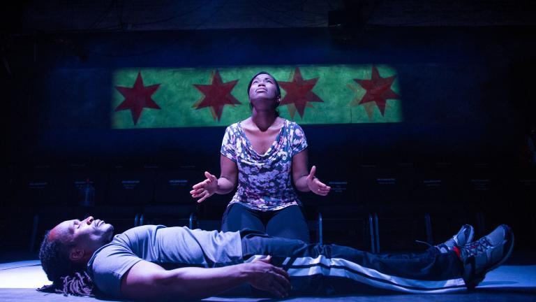 Collaboraction's 'Crime Scene: Breathe Life.' (Photo by Joel Maisonet)