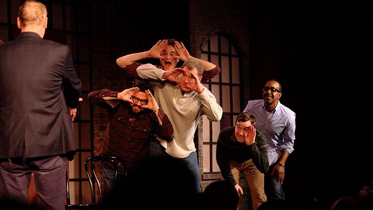 Horatio Sanz & The All-Stars of Comedy at the 2014 Chicago Improv Festival (John Abbot)