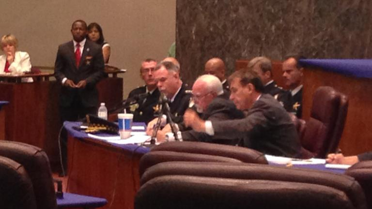 McCarthy testifies in front of City Council Committee