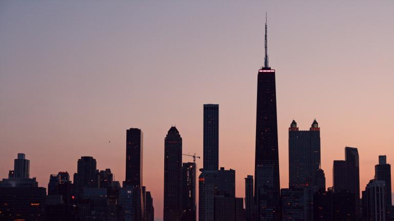 Some 8,638 Chicago residents left the city in 2016. (Bert Kaufmann / Wikimedia)