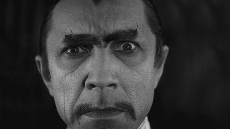 "Bela Lugosi in ""White Zombie."""