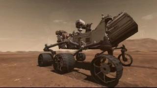 Curiosity Speeding Toward Mars