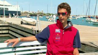 Local Windsurfer Prepares for Olympics