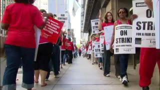 Day 3 of Teachers' Strike