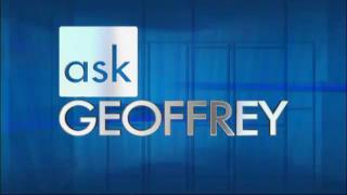 Ask Geoffrey: 9/17