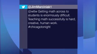 Viewer Feedback: 'Teaching Math Successfully is Hard'
