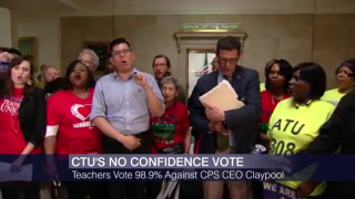 CTU Vote Reveals Little Confidence in CPS CEO Claypool