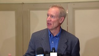 Gov. Rauner Seeking Re-election: 'I Am Not in Charge'