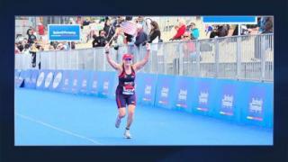 October 25, 2012 - Elizabeth Brackett Wins World Triathlon