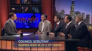 October 25, 2012 - Aldermen on the City Budget