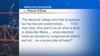 November 01, 2012 - Viewer Mail: 11/1 Electoral College
