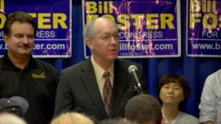 November 06, 2012 - Web Extra: Bill Foster Election Night