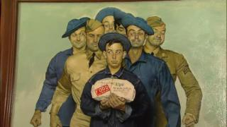 November 27, 2012 - Norman Rockwell Painting Auctioning