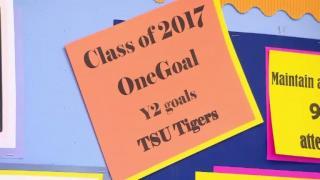 December 06, 2012 - OneGoal Sets High Bar for Students