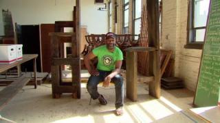 December 12, 2012 - Artist Theaster Gates
