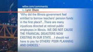 December 13, 2012 - Viewer Mail: IL' Broken Pension System