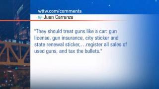December 20, 2012 - Viewer Mail:  Illinois Gun Laws